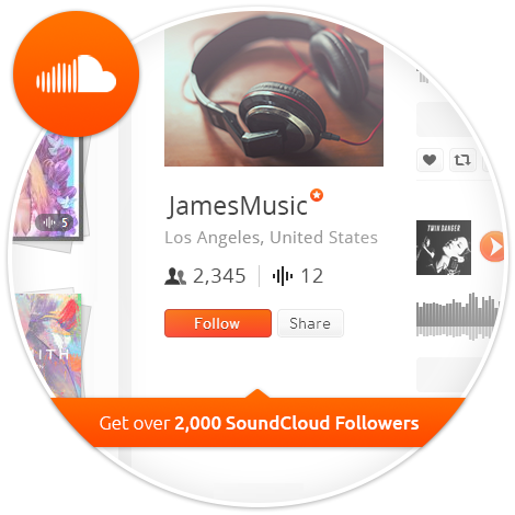 Buy 5,000 SoundCloud Followers - Sell Real Likes
