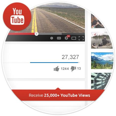 buy 25k youtube views
